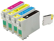 Pack 5 Tinteiros compatíveis Epson T1291 (2) + T1292 + T1293 + T1294
